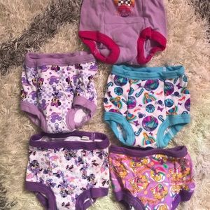 Disney training pants underwear 2T